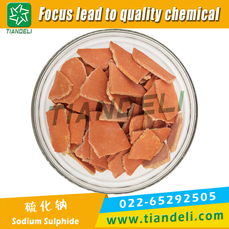 Sodium Sulphide 60% Min Yellow Flake Fe:150ppm Max