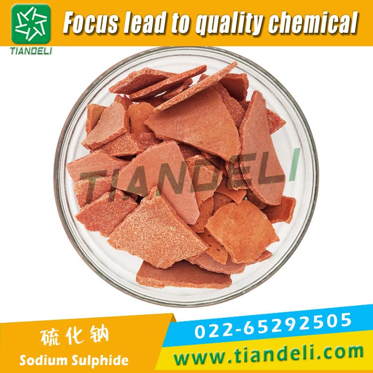 Sodium Sulphide Flake 60% Min