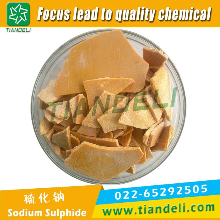 Sodium Sulphide 60% min flakes 50ppm